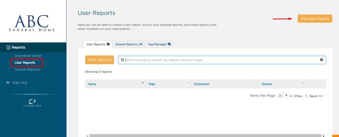 add new report