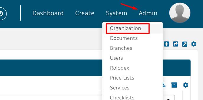 admin org