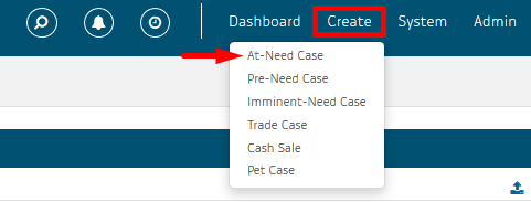 Create at-need case