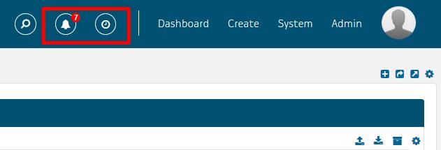Notification & reminder icons